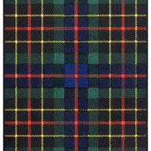 Tartan of the Brodie of Brodie showing a pattern of green, black, & blue check