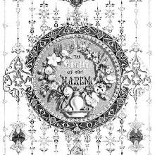 Ornamented title page to the story The Light of the Harem