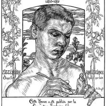 Front cover of a collection of the magazine L'Image for the years 1896-1897